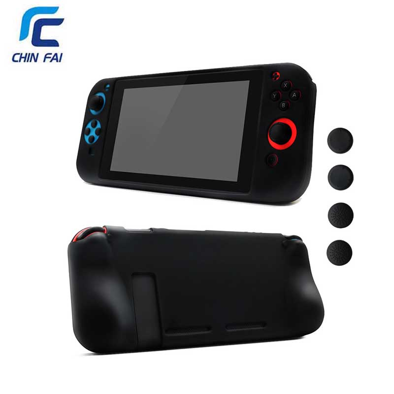Portable Protective Soft  Case for Nintend Switch Waterproof Gamepad protective case for Nintend Switch Console Cover+HD FILM