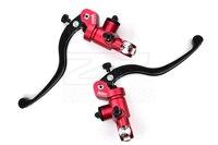 ADELIN 17.5 x 18 Motorcycle brake & clutch Radial Brake Master Cylinder,Adjustable, Folding Lever upgrade cnc 5 colors 7/8