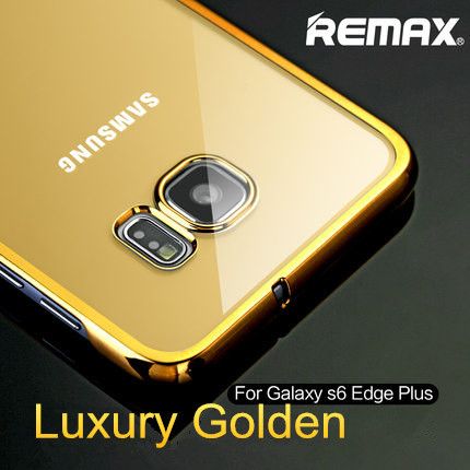 huge selection of 96a9c b0526 US $11.99 |For Samsung Galaxy S6 Edge Plus Case Original Remax Luxury PC  Frame+Plastic Back Covers For Samsung S6 Edge Plus Phone Cases on ...
