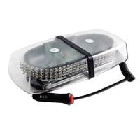 Car Interior Ceiling Magnetic Base Car Roof Flashing Strobe Emergency Light 240 LED Police Beacons Warning Mini Lighting Lamp
