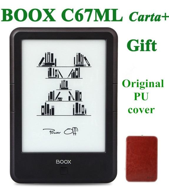 "Original ONYX BOOX C67ML carta+ ebook reader 6"" 8G wifi  eink touch screen 3000mAh pocket books gift pu cover"