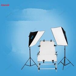 Photographic shooting Table 4 lamp head flexo light box Studio lamp Studio Photographic equipment Photo lamp set CD50 T07