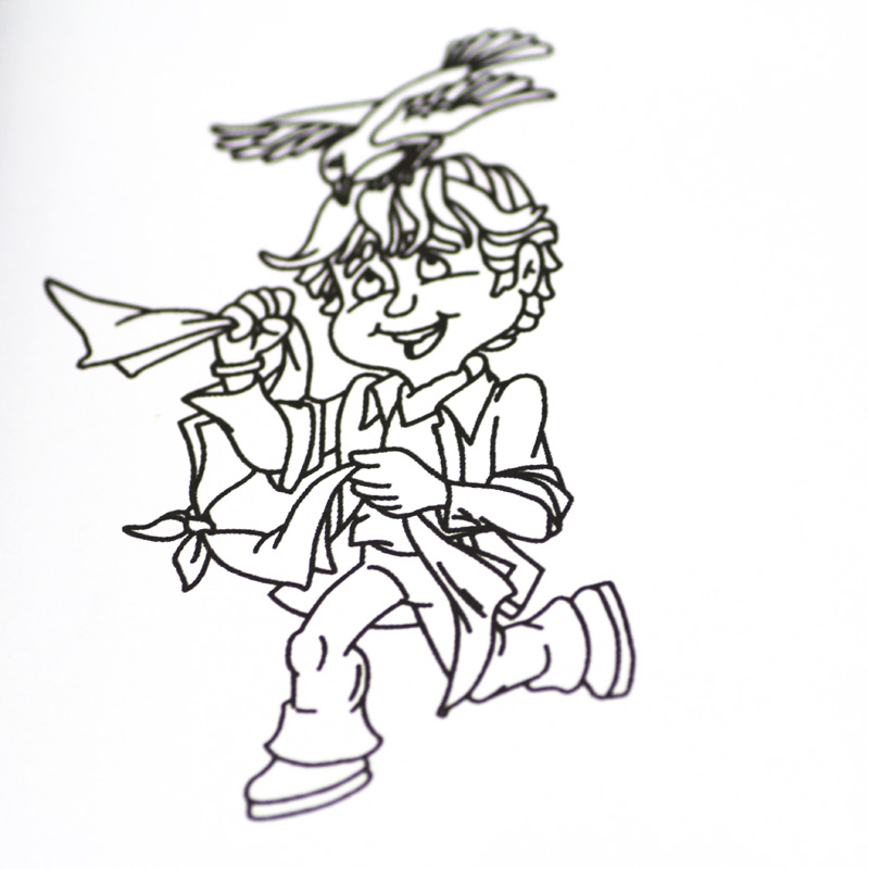 2pcs Comedy Magic Color Book mini style funny gadgets magic tricks
