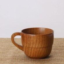 Ручной работы деревянный набор для чая натуральная деревянная ручка деревянная чашка принадлежности для кухонного бара