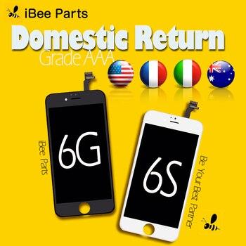 IBee piezas 10 piezas para iPhone 6 6 S LCD display 4,7 inch AAA reemplazo de la Pantalla lente de Pantalla libre de DHL