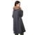 Venta caliente de la Manera larga de Algodón de Abrigo Para Las Mujeres Embarazadas 2016 Elegante Primavera Otoño Invierno Casual Capa Suéter Largo De Punto de Maternidad
