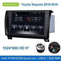 Car Stereo Radio GPS Navigation Bluetooth 9 Touchscreen 64Bit Quadcore 2GB 32GB Android Auto Radio For