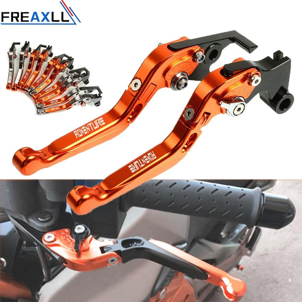 Pour KTM 990 1050 1090 1190 1290 aventure moto accessoires leviers CNC aluminium réglable moto frein embrayage leviers