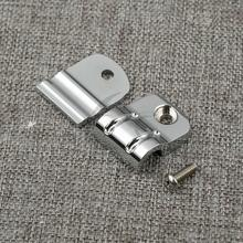 Motorcycle Clutch Cable Clip Chrome/Black For Harley Heritage Softail Deluxe Slim Fat Boy FLSTF FLST 2000-18