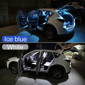 Image 3 - 5x Festoon 31mm C10W LED ampul araba İç işık kiti kubbe okuma lambaları bagaj lambası Mazda CX 5 CX5 KE KF 2012 2018 2019 2020