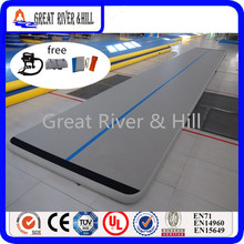 Great river & hill GYM mats air track high quality with fedex shipping 8m x1m x10cm(China)