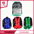 Racing Style JDM  Bride Racing Backpack Special Design School Bag RS-BAG008