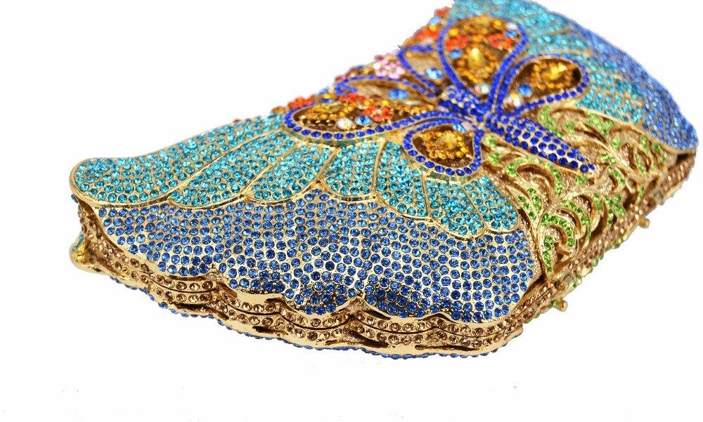 Soirée Mariée b gold Bag Papillon Bag Dames Partie De Mode 88233 Sac Strass A Bag Bal c e Bride Color Cristal Élégant Banquet Animal Evening f Bag Mariage d Bag Bag D'or Clutch D'embrayage ptgxRPpwq