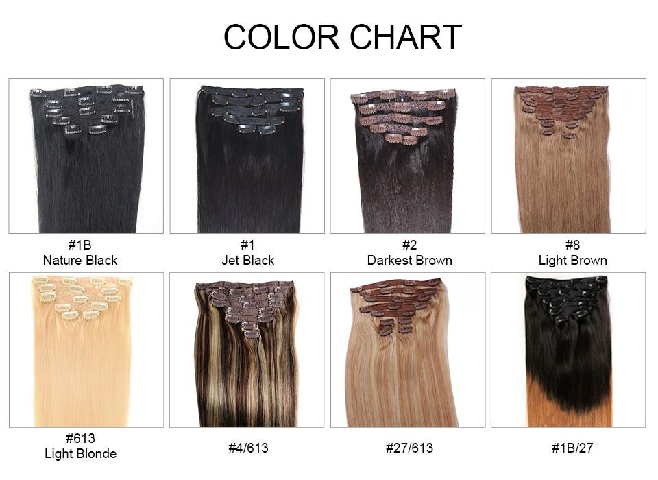 clip in human hair  (4)