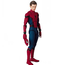 As Lendas Da Marvel Spiderman Super Hero O Regresso A Casa Ver Spider-man Action Figure MAFEX 047(China)