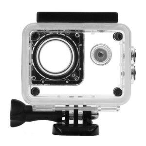 Image 2 - تبادل لاطلاق النار 40 متر شفاف مثبت مضاد للماء الحال بالنسبة SJCAM SJ4000 WIFI SJ 4000 Plus Eken h9 Case h9r SJ4000 عمل ملحقات الكاميرا