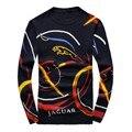 2016 Men's  new arrival fashion printed keep warm high quality 95% woolen sweater,navy blue,M,L.XL.XXL.