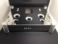 New Amps Stainless steel tube amplifier chassis, amplifier case diy amplifier chassis Suitable for EL34 amplifier enclosure