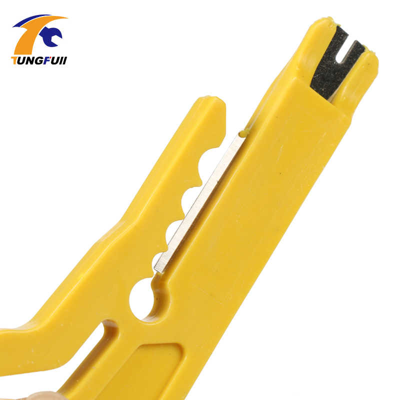MINI แบบพกพา Wire Stripper มีดคีม Crimper CRIMPING TOOL สายตัดลวดเครื่องตัดเครื่องมือตัดสาย Pocket multitool