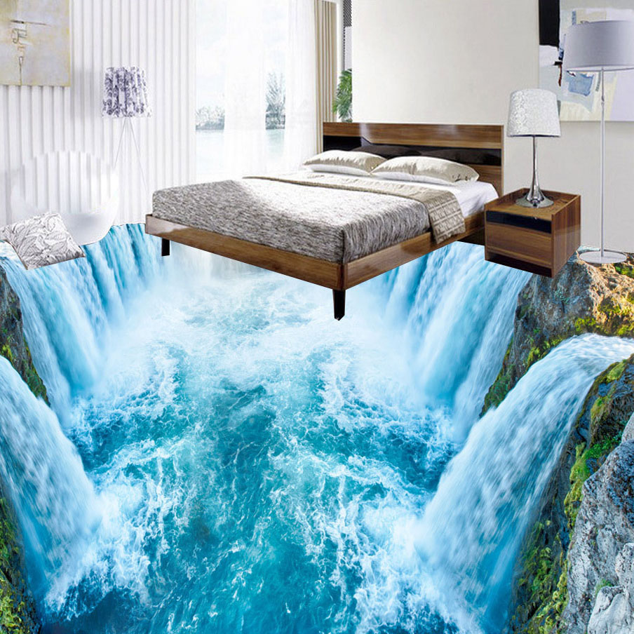Gut bekannt Badezimmer Boden 3d ZN61