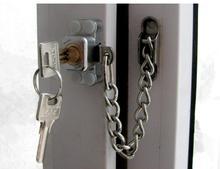 gate window door rolling shutter chain mini lock child home safety