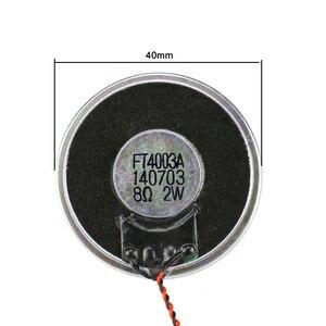 Image 4 - Ghxamp 1.5 inç 40mm Kablosu Ile Hoparlörler Birimi 8ohm 2 W Taşınabilir Hoparlör Diy 10 PCS