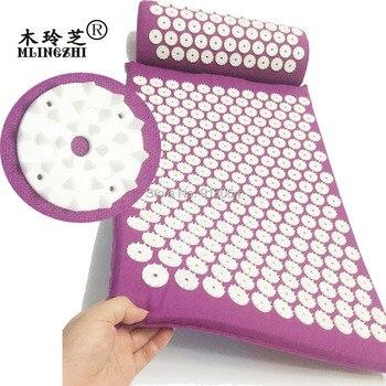 Livraison directe ABS spike tapis d'acupression tapis de coussin de massage avant ou après le yoga soulager la douleur améliorer le sommeil livraison gratuite