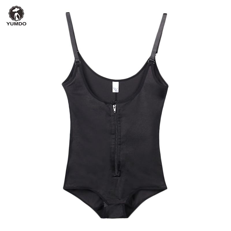 a7c8b2eb9f1 Yumdo 100% Latex Slim Full Body Shaper Women Bodysuit Shaperwear Zip Weight  Loss Corset Modeling Belt Waist Trainer Butt Lifter