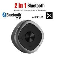 Sale Bluetooth 5.0 Audio Transmitter Receiver CSR8675 APT X Low Latency/Aptx HD Wireless Adapter for TV Speaker Car 3.5mm AUX