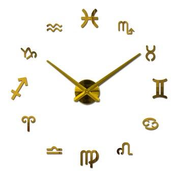 new fashion diy wall clock europe 3d big quartz watch clocks living room large home decorative still life circular stickers 10