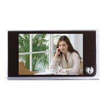 Многофункциональный домашний безопасности 3.5 дюйма ЖК-дисплей Цвет цифровой Дверь глазок Дверные звонки безопасности Камера 2017 Лидер продаж