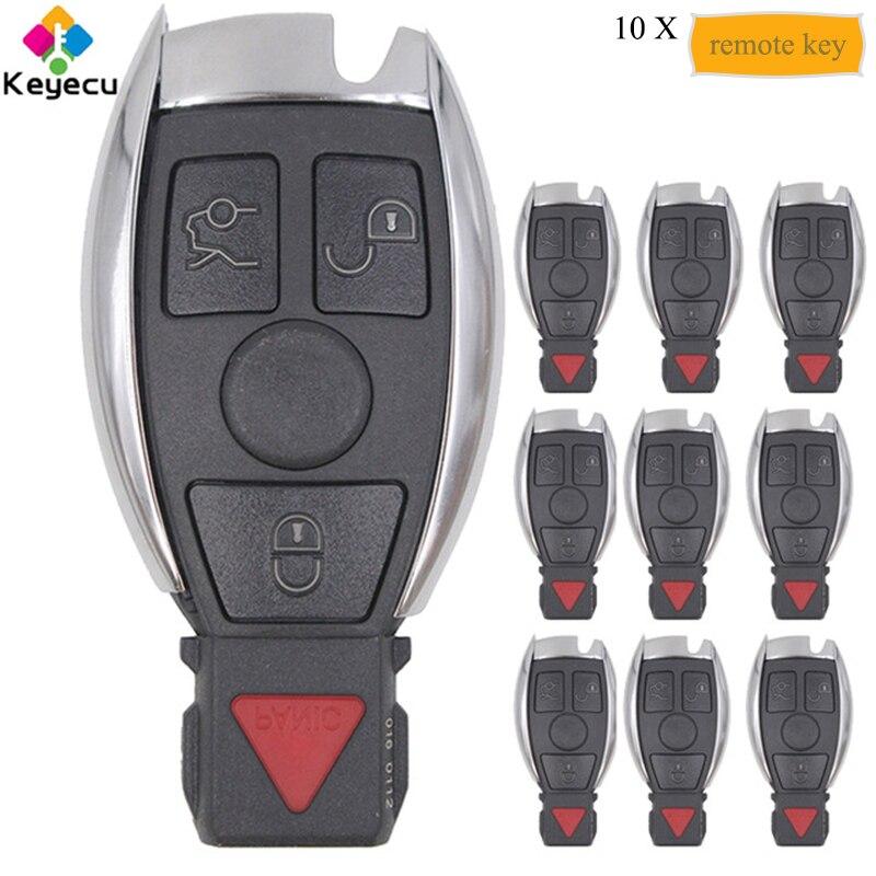 KEYECU 10PCS Lot KYDZ Smart Remote Car Key 315MHz 3 1 4 Buttons FOB for Mercedes