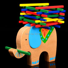 цена на Exempt postage, Germany color bar game, children's ability, the elephant balance, color sticks the balance beam