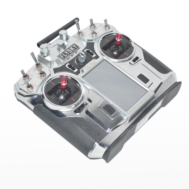 FlySky FS i10 T6 2.4g Digital Proporzionale Trasmettitore Canale 10 Ricevitore del Sistema 3.55 Schermo A LED di Controllo a distanza per RC drone
