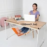 2017 New Portable Novelty Mini Office Foot Rest Stand Adjustable Desk Feet Hammock 65 5x15 5cm