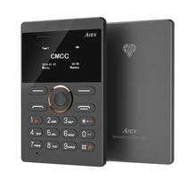 En gros! 15 PCS Comme Un Paquet Le Plus Chaud Mini Téléphone AIEK E1 Carte Téléphone Pas Cher téléphone