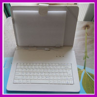 Free Shipping 1pcs Micro USB Keyboard Leather Case For Allwinner Action 10 1 Inch Tablet PC