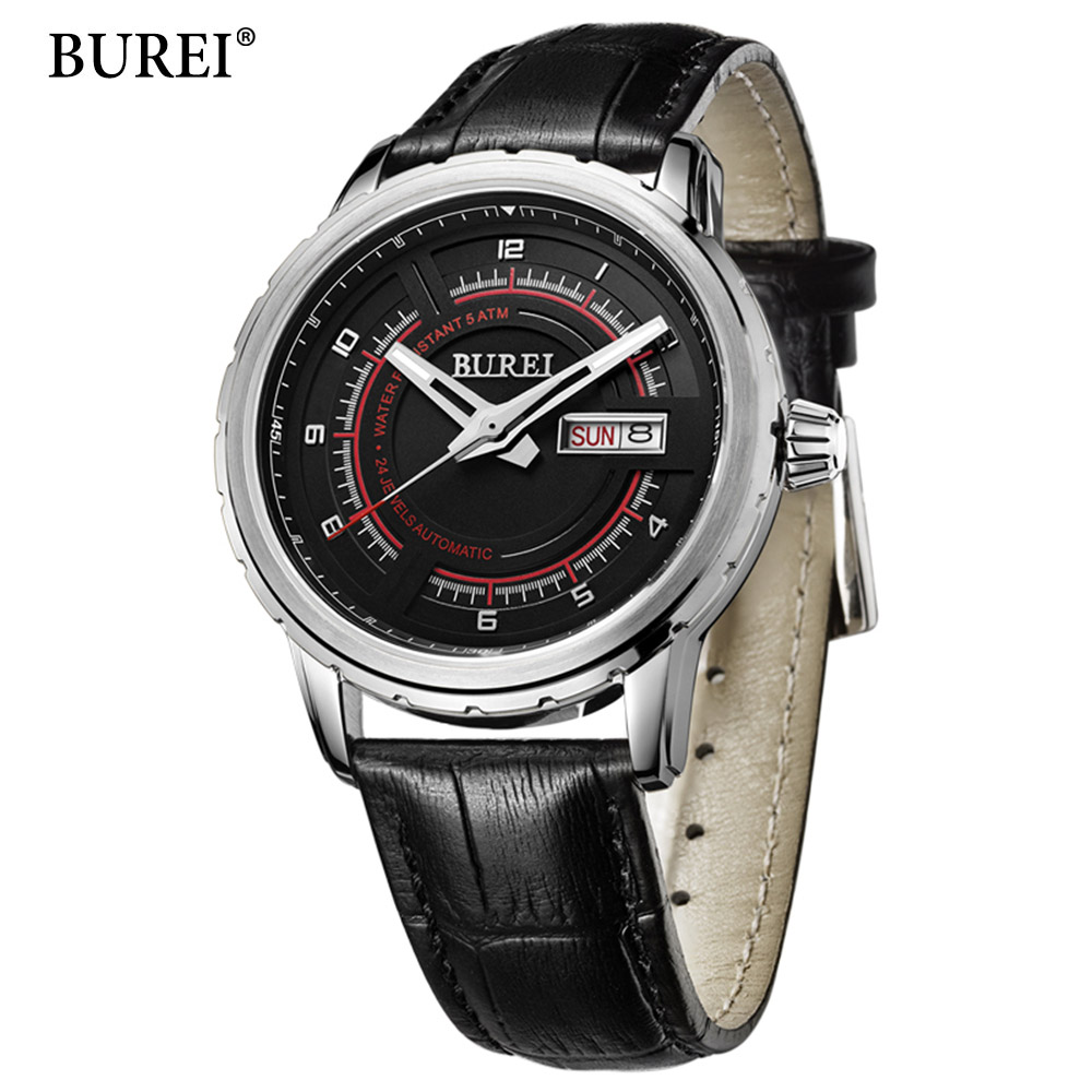 Watches Men Luxury Brand Sport Watch 50M Waterproof Military Watches Automatic Mechanical Wristwatch Fashion Design reloj hombre