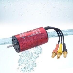 Image 3 - Wasserdicht 2040 2,3mm 2280KV 3200KV 3900KV 4480KV Bürstenlosen Motor für Traxxas HSP Tamiya Axial 1/16 1/18 RC Buggy Auto