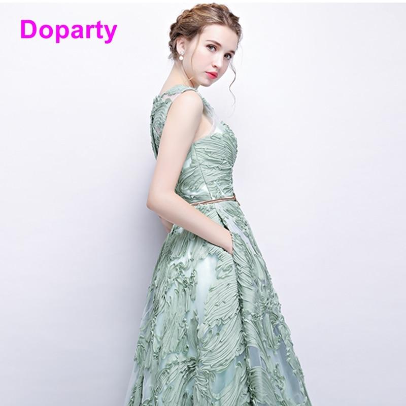Doparty XS3 2018 formalne žene tirkizne luksuzne duljine duljine - Haljina za posebne prigode - Foto 2