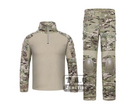 Emerson G2 BDU Uniform Combat Shirt & Pants w/ Elbow & Knee Pads Set Tactical Military Airsoft EmersonGear Hunting Clothes