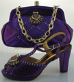 Italian Matching Shoe And Bag Set High Heel Italian Shoe With Matching Bag Good Quality Italy Shoe And Bag Set To Match ME0021