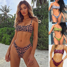 micro mini bikini push up beach swimsuit separate womens swimwear women 2019 sexy/ thong/leopard/bandeau