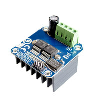 Free shipping BTS7960 43A High-power smart car motor drive module semiconductor refrigeration drive