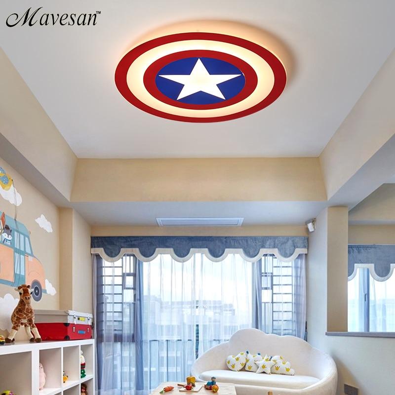 techo América para Capitán LED niños Luces de DIY2WEH9