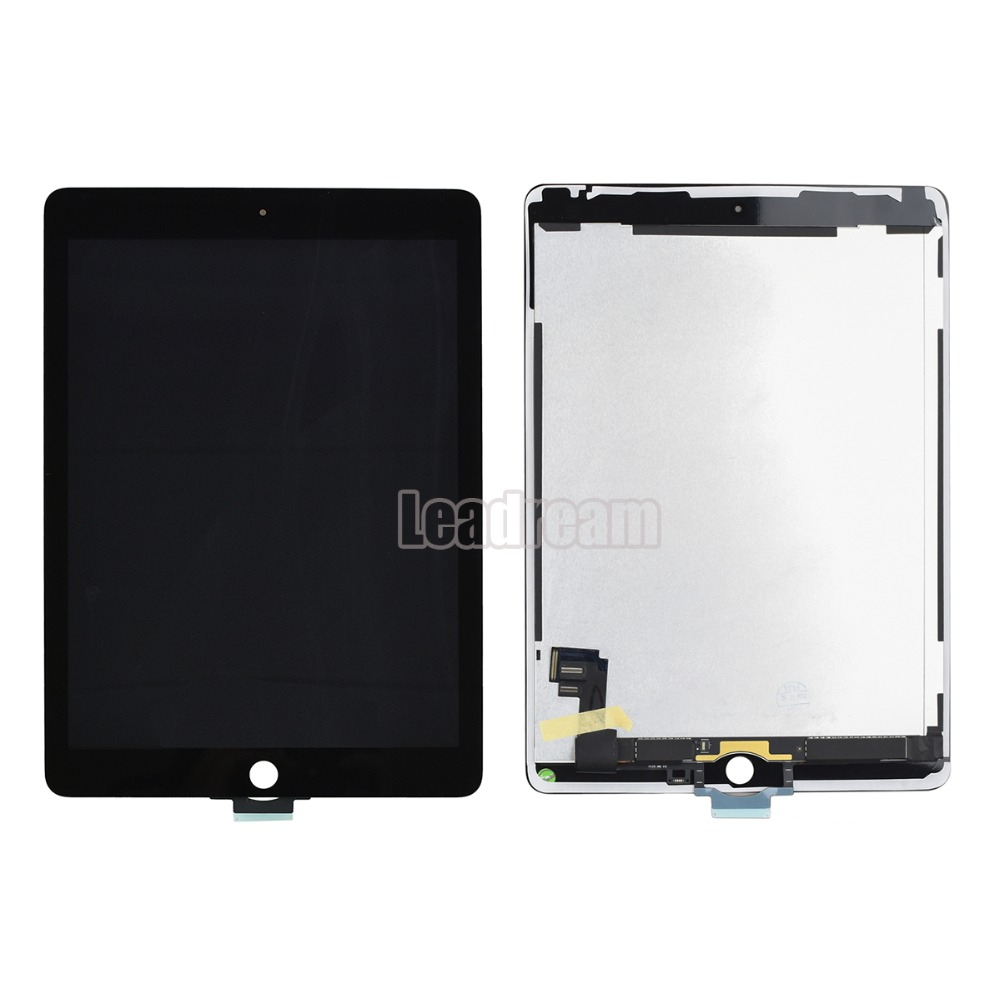 10pcs DHL For iPad Air 2 A1567 A1566 LCD Display With Touch Screen Digitizer Panel Assembly Complete with Adhesive-in Tablet LCDs & Panels from Computer & Office    1