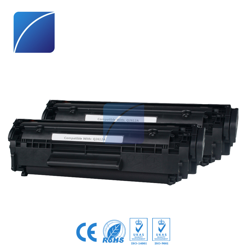 Q2612A 12A Toner Cartridges Compatible For HP 1010 1012 1015 1018 1020 1022 1022n 1022nw 3015 3020 3030 3050 3052 Laser Printer 4