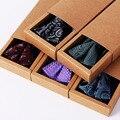 Галстук узел наборы Полиэстер Жаккардовые площади полотенце и лук галстук Подарочная коробка для мужчин мужская Мода галстук-бабочку аксессуары