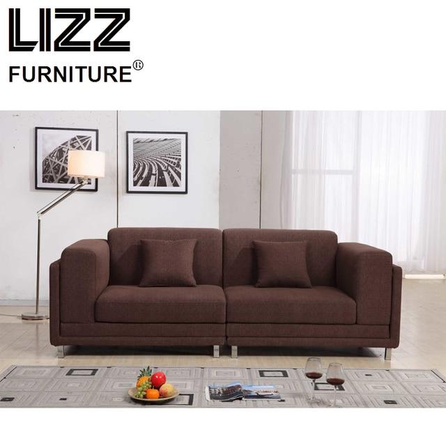 China Corner Sofas Loveseat Chair High Quality Fabric Living Room Furniture Modern Scandinavian Fabrics Sofa