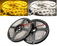 5M LED Strip 5050 DC12V SMD5050 300 LEDS White/Warm White Non-Waterproof Flexible Tape Strip Light Lamp